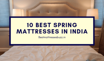 best spring mattresses in India
