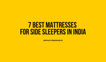 best mattresses for side sleepers in india