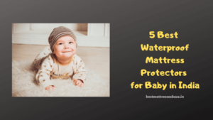 waterproof mattress protector for baby in india