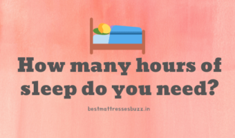 how many hours of sleep do you need